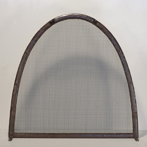 Fireplace Screen / 'Kiva' Design / Forged Steel