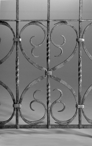 Ironwork / Forged Iron Gate / Corrales, NM