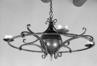 Ironwork / Chandelier / Forged Steel / Santa Fe, NM / Las Dos