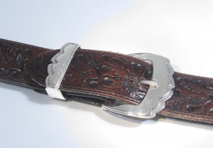 Buckle Set / Silver / ©David Larson
