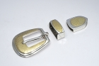 3 Piece Ranger Set / Silver & Gold