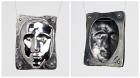 Hammer-Formed Silver Pendant