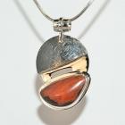 Pendant / Silver & Sonoran Cuprite