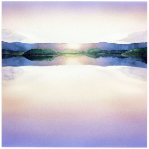 'Calm Lake #2' 2006 / watercolor / ©David Larson