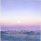 \'Moonrise Over Truchas #1\' 2006 / watercolor / ©David Larson
