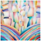 \'Stripes #1\' 2009 / watercolor / ©David Larson