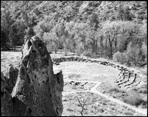 Tyuonyi Ruins from Cliff Trail
