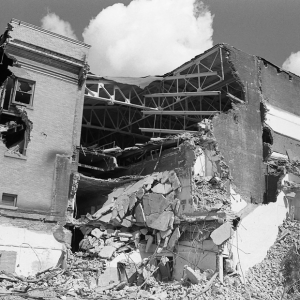 Ruins in Detroit