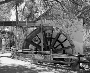 Big Mill and Waterwheel