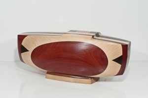 "'Novi' David Larson / 2008 / wood / 22"" x 9"" x 8"""