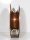 "'Rings & Runes' David Larson / 2003 / cast bronze / 16"" x 16"" x 5"""