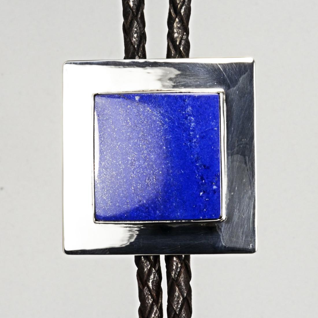 jewelry bola tie with lapis
