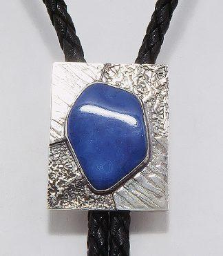 jewelry bola tie azurite