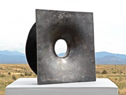 forged steel sculpture